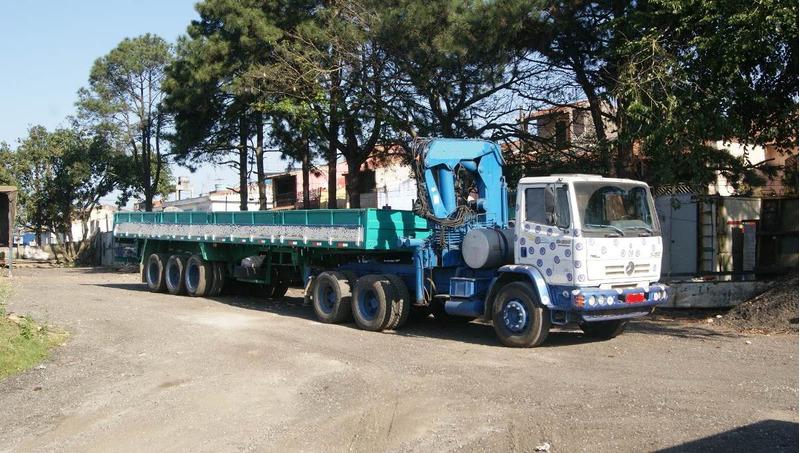 carreta munck caminhão munck mb 2428 traçado guindauto 2004
