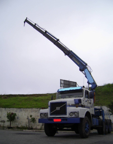 carreta munck caminhão munk volvo hidráuguinhco guindaste