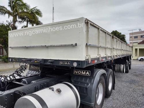 carreta noma vanderleia 12,40mts carga seca 2014 sem pneus