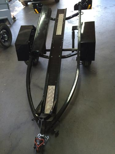 carreta para 01 moto - carretinha para moto 0km