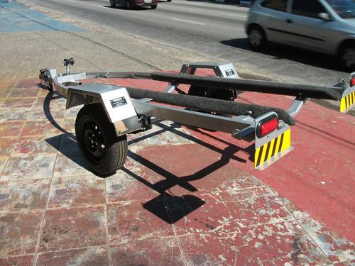 carreta para jet ski galvanizada a fogo