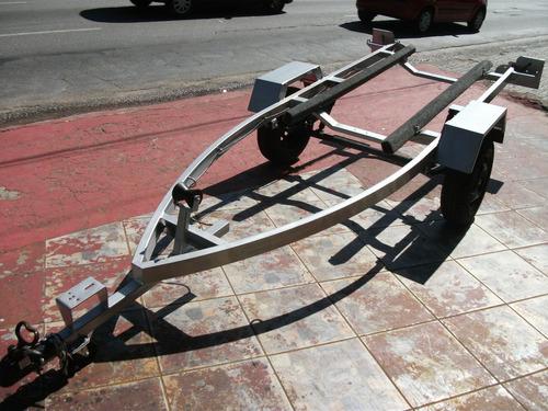 carreta para jet ski galvanizada a fogo zero