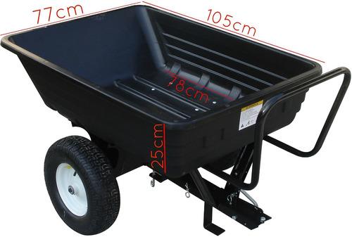carreta para motocultivador micro trator cortador de grama