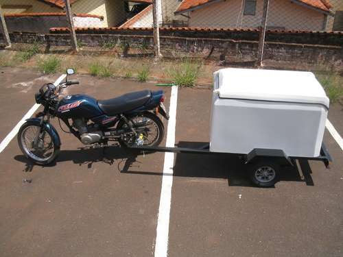 carreta para puxar c/ moto direto da fábrica chassi 001