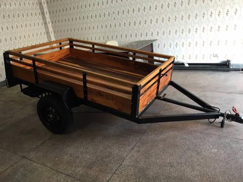 carreta para quadriciclo - basculante ou fazendinha e quadri