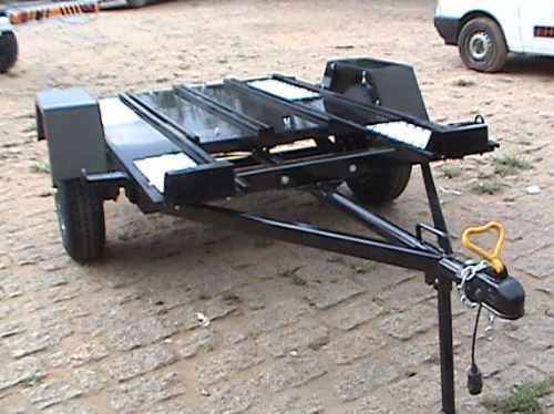 carreta para quadriciclo -   free hobby  - reboque