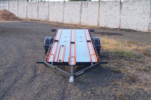 carreta para transp/ 6 motos - bravo chassi 01