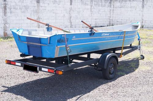 carreta para transp / de barco 6m bravo carretas chassi 01