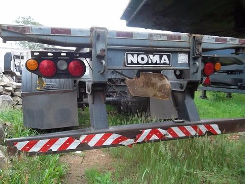 carreta porta container 2011 para ls 12 locks noma