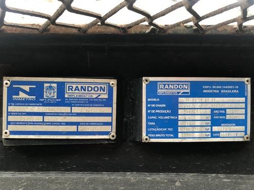 carreta porta container randon bug 40 pes facchini c/pneus