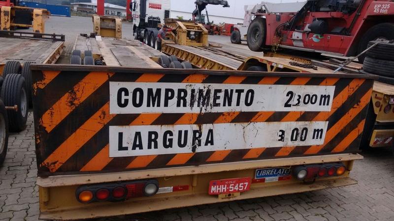carreta prancha lagartixa 4 eixos carrega tudo semi reboque