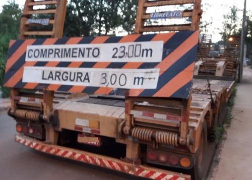 carreta prancha librelato 4 eixos ano 2007 l 2007