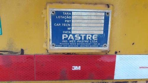 carreta prancha pastre 4 eixos ano 2011/2011