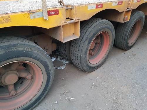 carreta prancha randon ano 2011/2011 com pneus