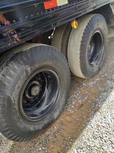 carreta randon ano 99 3 eixos assoalho chapa com pneus /////