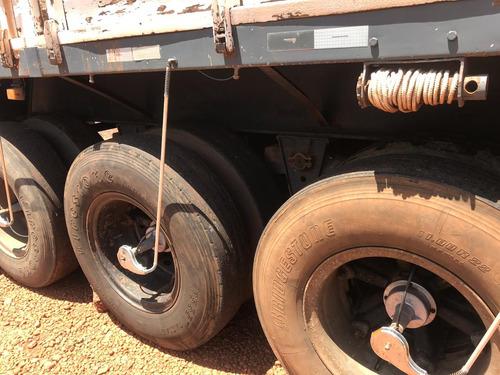 carreta randon  ls   ano 94 graneleira com pneus