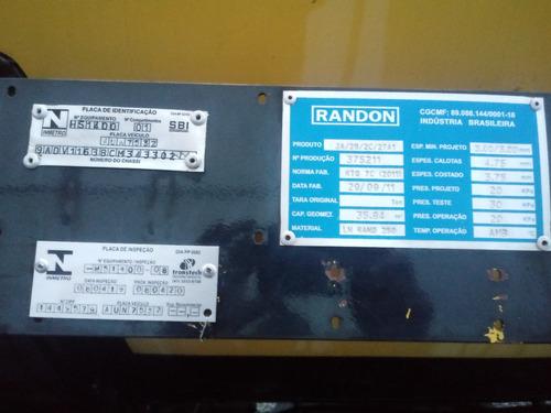carreta randon tanque combustivel 35.000 lts 2011/2012
