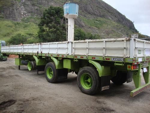 carreta randon vanderleia 14mts 2009 unico dono
