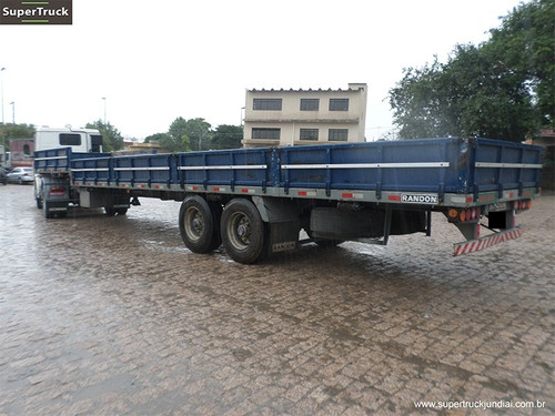 carreta rebaixada carga seca randon 2 eixos ano 2004 s/ pneu