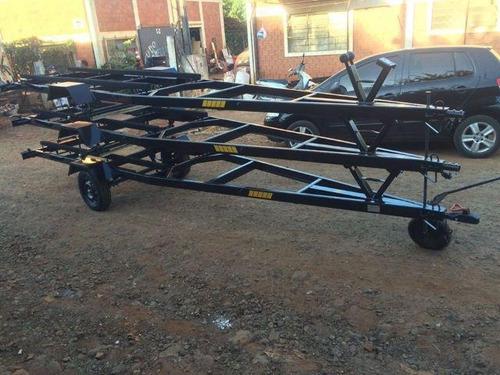 carreta reboque martins p/ barco 6metros
