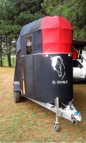 carreta reboque para 2 cavalos