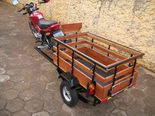 carreta reboque para motos - bravo carretas