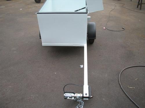 carreta reboque para puxar com moto - bravo chassi 01