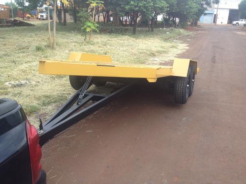 carreta reboque pra transporte veicular