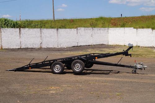 carreta reboque transporte veicular bravo chassi 01