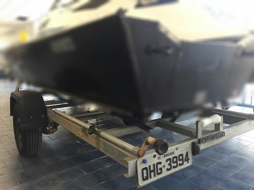 carreta rodovária 6.5m usada