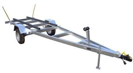 carreta rodoviária p/ barco pety 600 completa guia lateral
