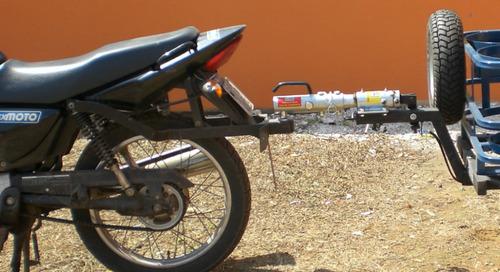 carreta semi reboque baú g para motos flexmoto
