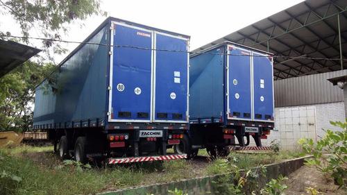 carreta sider vanderleia c/ pneu 2007/2008