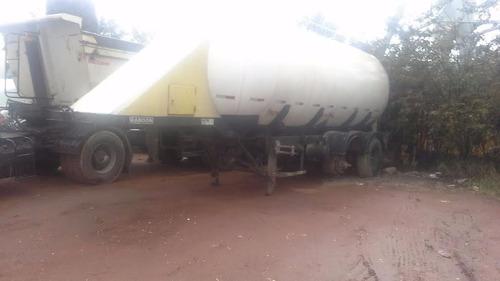 carreta silo cimento randon ano 1995 c/compressor