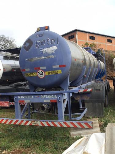 carreta tanque 23000 litros em inox