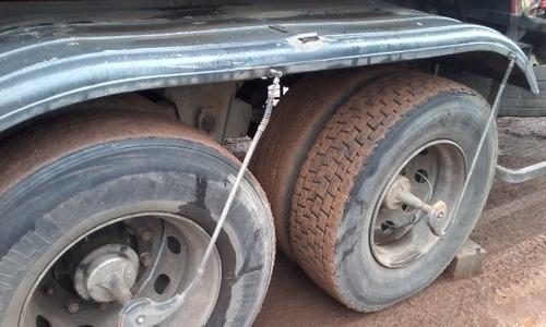 carreta tanque 25000lts,5x5000l, 2 eixos top s pneus