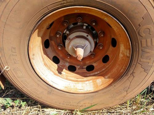 carreta tanque bitrem fachinni rodagem 295 s/ pneus 2008/9