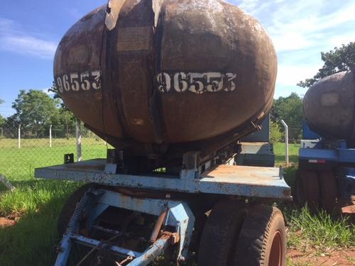carreta tanque de fibra com documentos r$ 25.000.