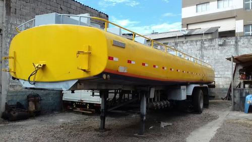 carreta tanque randon 3 eixos, 30.000lts, 1996, s/ pneus!
