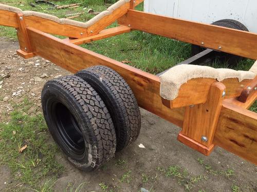 carretas madeira lanchas