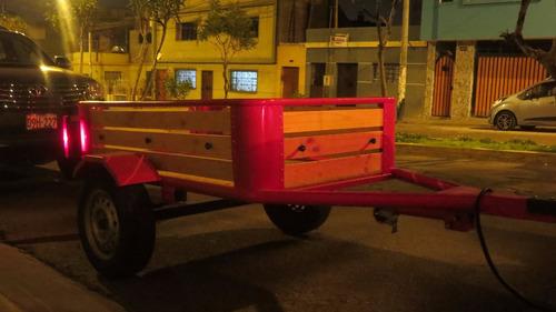 carretas para automoviles y camionetas