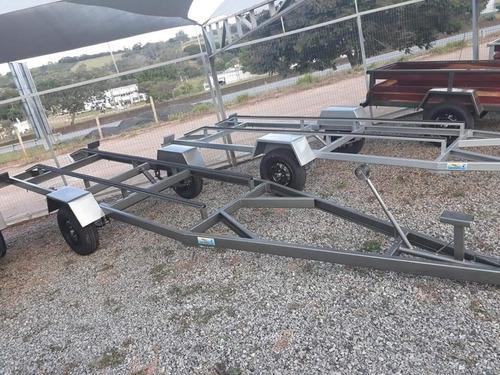 carretas para barco de ate 5mts zero