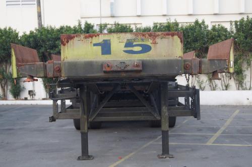carretas porta container 40 pes com 12 pinos lock