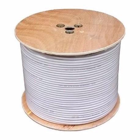 Carrete Cable Coaxial Rg6 305 Mts 14 990 En Mercado