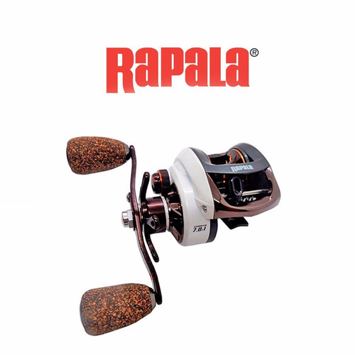 carrete casting rapala challenge derech 10 baleros envio inc