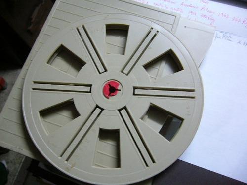carrete de 8 pulgadas para pelicula de 8 mm con estuche