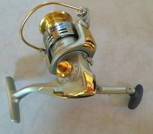 carrete pesca 8 rulimanes aluminio y polimero