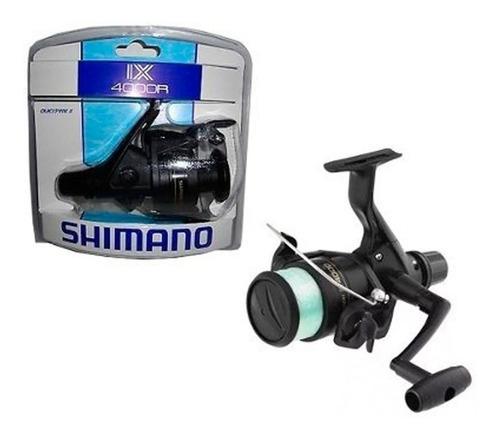 carrete pesca spinning shimano ix4000r agua dulce salada ree