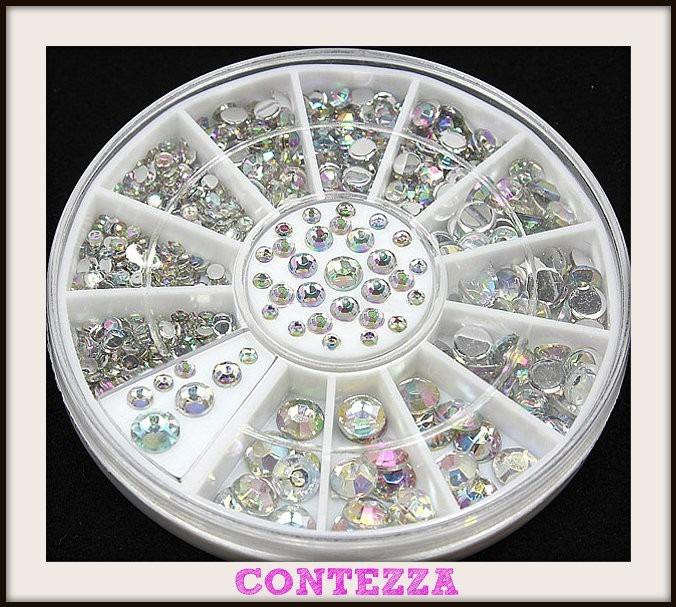 Carrete Piedra Cristal Decoracion Uñas Estrellas Metalico - $ 69.00 ...