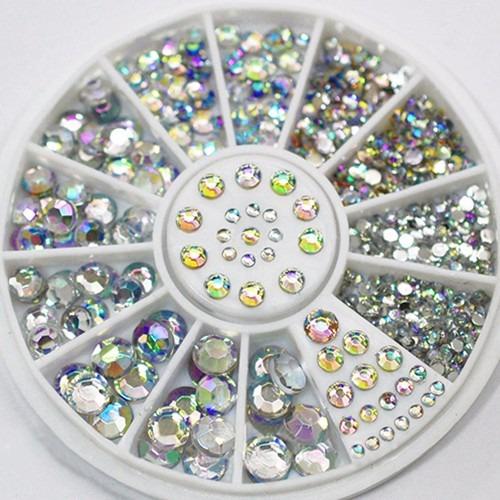 Carrete piedras swarovski tornasol decoracion 5 tama os for Cristales swarovski para decorar unas